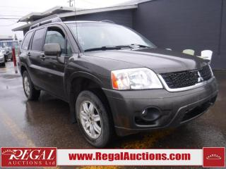 Used 2011 Mitsubishi Endeavor 4D Utility AWD for sale in Calgary, AB