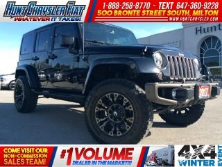 Used 2017 Jeep Wrangler Unlimited UNLIMITED SAHARA | BIG WHEELS | DUAL TOP | LEATHER for sale in Milton, ON