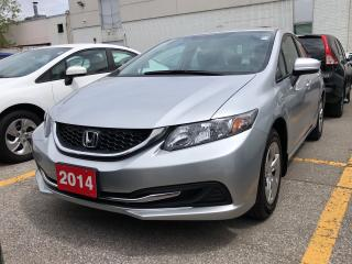 Used 2014 Honda Civic LX, low mileage for sale in Toronto, ON