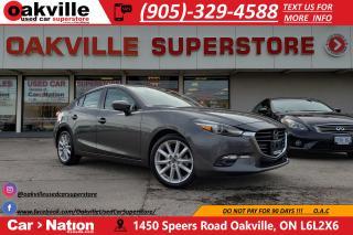 Used 2017 Mazda MAZDA3 GT | HUD | NAVI | SUNROOF | RADAR CRUISE for sale in Oakville, ON