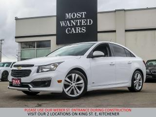 Used 2015 Chevrolet Cruze RS | NAVIGATION | SUNROOF | CAMERA for sale in Kitchener, ON