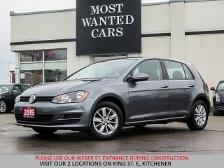 Used 2015 Volkswagen Golf TSI | BLUETOOTH | TOUCHSCREEN for sale in Kitchener, ON