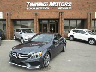 Used 2016 Mercedes-Benz C-Class C300 4MATIC | A.M.G | NAVIGATION | SUNROOF | REAR CAM | B\T for sale in Mississauga, ON