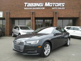 Used 2017 Audi A4 QUATTRO | LEATHER | SUNROOF | HEATED SEATS & STEERING | B\T for sale in Mississauga, ON