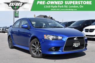 Used 2015 Mitsubishi Lancer GT AWC - Sunroof, Well Maintained, One Owner for sale in London, ON