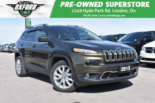 Used 2014 Jeep Cherokee Limited - Roof Rails, Cruise Control, Back Up for sale in London, ON