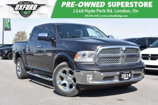 Used 2014 RAM 1500 Laramie - 4X4, One Owner, Loaded for sale in London, ON