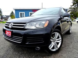 Used 2012 Volkswagen Touareg Execline TDI Navigation Pano Loaded Certified for sale in Guelph, ON