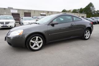 Used 2006 Pontiac G6 GT V6 COUPE AUTO CERTIFIED 2YR WARRANTY *NO ACCIDENT*SERVICE RECORD* for sale in Milton, ON
