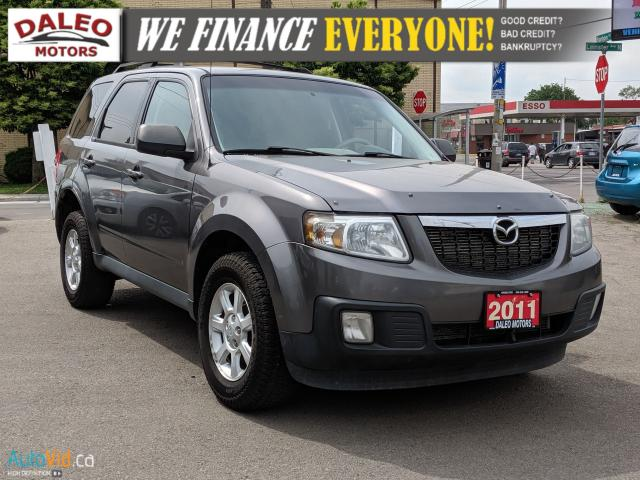2011 Mazda Tribute GT | 4X4 | V6 | BLUETOOTH | ROOF RACK