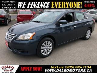 Used 2014 Nissan Sentra SV | BLUETOOTH | 114KMS | WE FINANCE for sale in Hamilton, ON