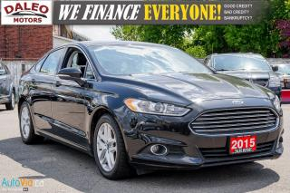 Used 2015 Ford Fusion SE | BACK UP CAM | BLUETOOTH | LEATHER for sale in Hamilton, ON