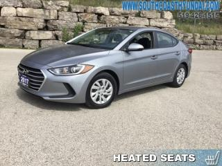 Used 2017 Hyundai Elantra LE  - Bluetooth - Proximity Key - $97.37 B/W for sale in Simcoe, ON