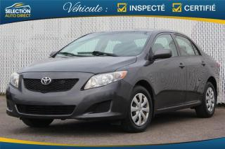 Used 2009 Toyota Corolla CE for sale in Ste-Rose, QC