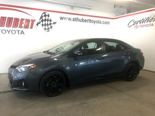 Used 2015 Toyota Corolla S, Mags Noir for sale in St-Hubert, QC