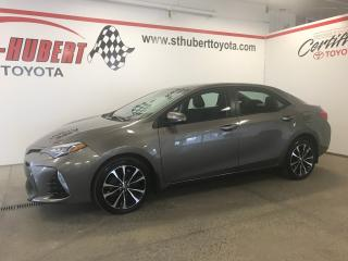 Used 2017 Toyota Corolla SE for sale in St-Hubert, QC