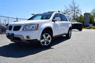 Used 2009 Pontiac Torrent AC/AUTO/ROOF/LEATHER/PL/P for sale in Coquitlam, BC