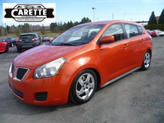 Used 2010 Pontiac Vibe for sale in East broughton, QC