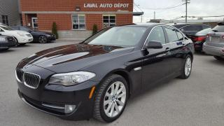 Used 2013 BMW 5 Series Traction intégrale xDrive 535i Berline 4 for sale in Laval, QC