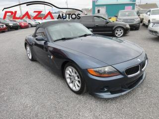 Used 2004 BMW Z4 2.5i for sale in Beauport, QC