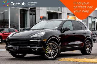 Used 2017 Porsche Cayenne S E-Hybrid|PlatinumEdition|Pano.Sunroof|Bose.Sound|Park.Assist for sale in Thornhill, ON