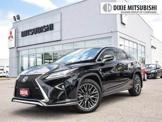 Used 2016 Lexus RX 350 F-SPORT | HEATED & COOLED SEATS | NAVI | SUNROOF for sale in Mississauga, ON