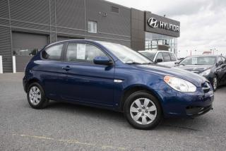 Used 2011 Hyundai Accent Hayon 3 portes. for sale in St-Hyacinthe, QC