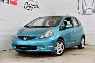 Used 2013 Honda Fit LX for sale in Blainville, QC