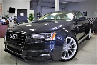 Used 2015 Audi A5 2.0T Komfort A5 S LINE!! LEATHER TAN INTERIOR!! SOLD CERTIFIED!!! for sale in Bolton, ON