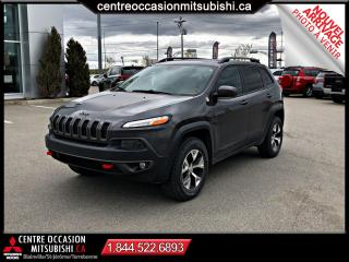Used 2016 Jeep Cherokee Trailhawk 4X4 CUIR TOIT PANO GPS V6 for sale in St-Jérôme, QC