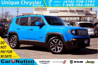 Used 2015 Jeep Renegade NORTH| NAV| REAR CAM| REMOTE START & MORE for sale in Burlington, ON