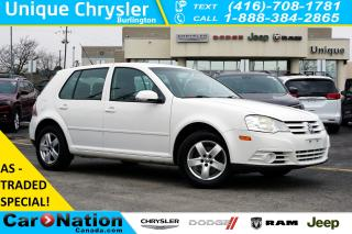 Used 2009 Volkswagen City Golf 2.0L  AS-TRADED  HEATED SEATS  ALLOY WHEELS for sale in Burlington, ON