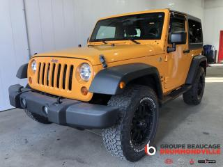 Used 2012 Jeep Wrangler SPORT for sale in Drummondville, QC