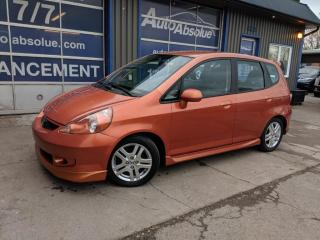 Used 2008 Honda Fit Sport for sale in Boisbriand, QC