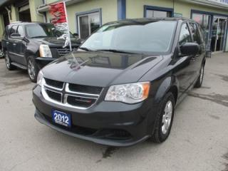Used 2012 Dodge Grand Caravan FAMILY MOVING SE MODEL 7 PASSENGER 3.6L - V6.. CAPTAINS.. STOW-N-GO.. CD/AUX INPUT.. KEYLESS ENTRY.. for sale in Bradford, ON