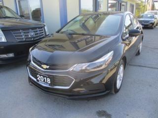 Used 2018 Chevrolet Cruze GAS SAVING LT MODEL 5 PASSENGER 1.4L - TURBO.. HEATED SEATS.. FACTORY WARRANTY.. BLUETOOTH.. BACK-UP CAMERA.. POWER SUNROOF.. for sale in Bradford, ON