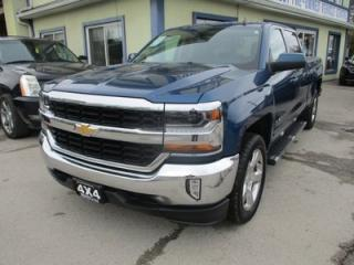 Used 2017 Chevrolet Silverado 1500 WORK READY LT MODEL 6 PASSENGER 5.3L - V8.. 4X4.. CREW.. SHORTY.. TRAILER BRAKE.. BLUETOOTH.. BACK-UP CAMERA.. HEATED SEATS.. for sale in Bradford, ON