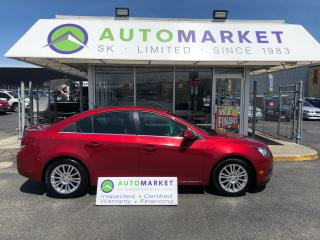 Used 2011 Chevrolet Cruze Eco 1.4L TURBO! WE FINANCE EVERYONE! for sale in Langley, BC
