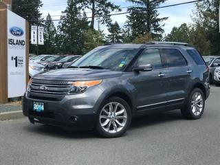 Used 2014 Ford Explorer Limited, Moonroof, Backup Camera, 4WD for sale in Duncan, BC