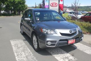 Used 2011 Acura RDX Tech Pkg for sale in Courtenay, BC