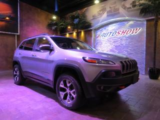 Used 2018 Jeep Cherokee Trailhawk 4WD - Pano Roof, Htd & A/C Lthr, R.Start!! for sale in Winnipeg, MB