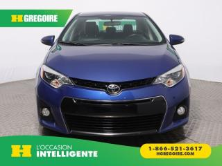 Used 2014 Toyota Corolla S A/C CUIR CAM for sale in St-Léonard, QC