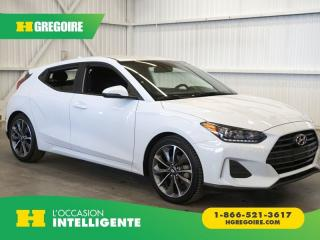 Used 2019 Hyundai Veloster 2.0 GL CAMÉRA-A/C for sale in St-Léonard, QC