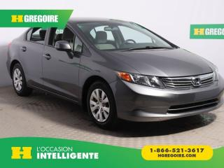 Used 2012 Honda Civic LX A/C for sale in St-Léonard, QC