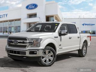 New 2019 Ford F-150 King Ranch for sale in Winnipeg, MB