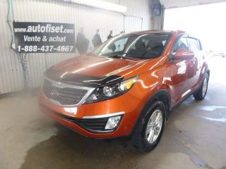 Used 2012 Kia Sportage LX for sale in St-Raymond, QC