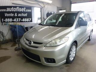 Used 2007 Mazda MAZDA5 GS M. $17.36/sem+taxes for sale in St-Raymond, QC