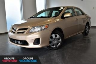 Used 2012 Toyota Corolla CE for sale in Brossard, QC