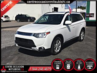 Used 2015 Mitsubishi Outlander ES PREMIUM CUIR + TOIT + 4X4 for sale in Blainville, QC