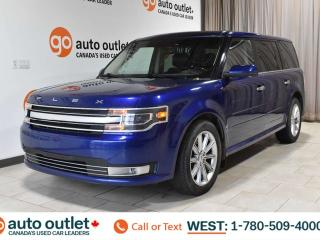 Used 2013 Ford Flex LIMITED, AWD, 7 PASSENGER SEATING, LEATHER SEATS, POWER WINDOWS & SEATS, STEERING WHEEL CONTROLS, CRUISE CONTROL, FOG LIGHTS, NAVIGATION, A/C, AM/FM RADIO, SATELLITE RADIO, HEATED FRONT SEATS, MEMORY SEATS, BACKUP CAMERA, for sale in Edmonton, AB